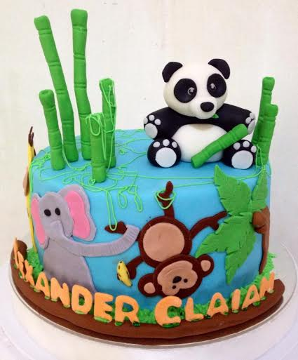 Safari Cake by Joan Christine Wee of Hello! Sugar