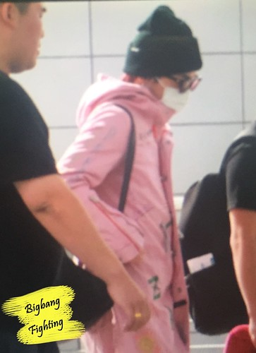 Big Bang - Incheon Airport - 24sep2015 - BigbangFighting - 02