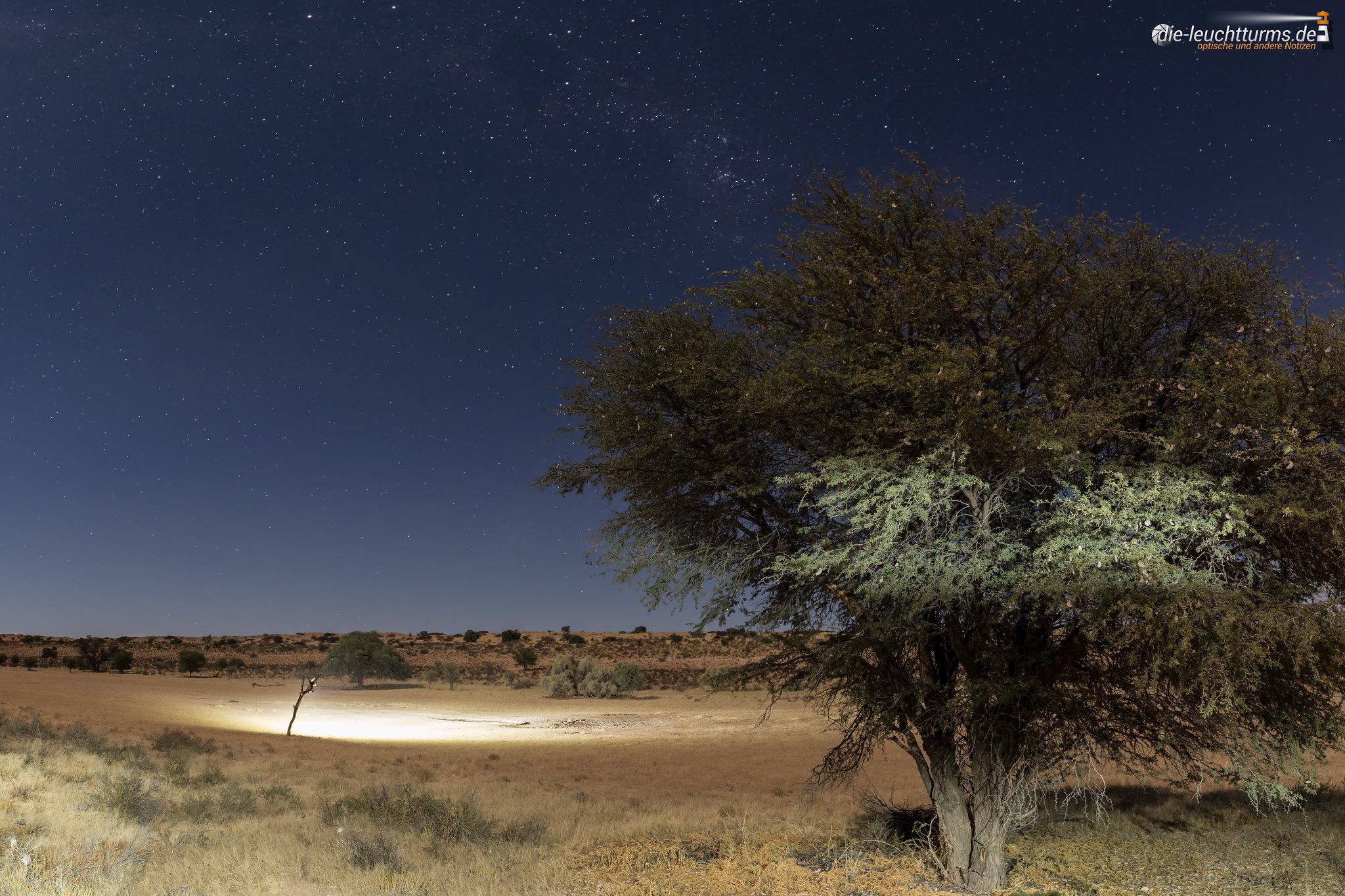 Urikaarus Waterhole under moonlight