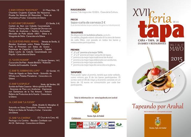 AionSur 16758523153_1c0b720095_z_d La XVII Feria de la Tapa cuenta con 15 bares participantes y será del 7 al 17 de mayo Cultura Feria de La Tapa