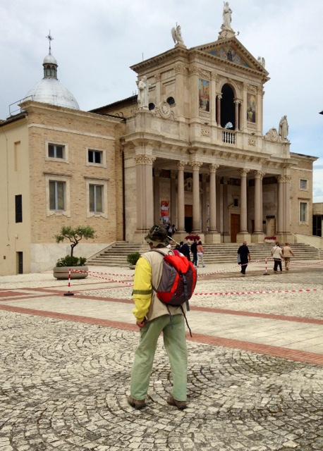 Santuario di San Gabriele    (photo by Galliano Passerini)