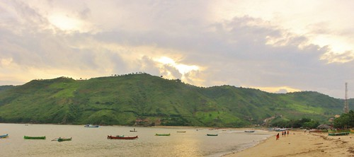 Beautiful Harbor of Kuta, Lombok