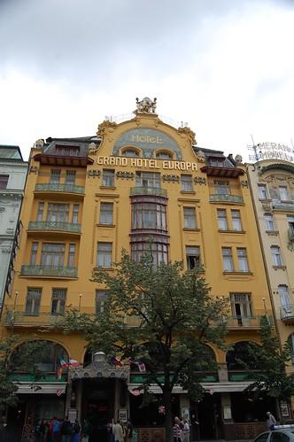 Grand Hotel Europa en Praga
