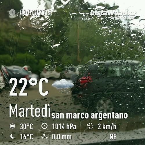 Foto scattata con InstaWeather  Free App! @instaweatherpro #instaweather #instaweatherpro #weather #wx #android #bisignano #italia #day #spring #rain #evening #it