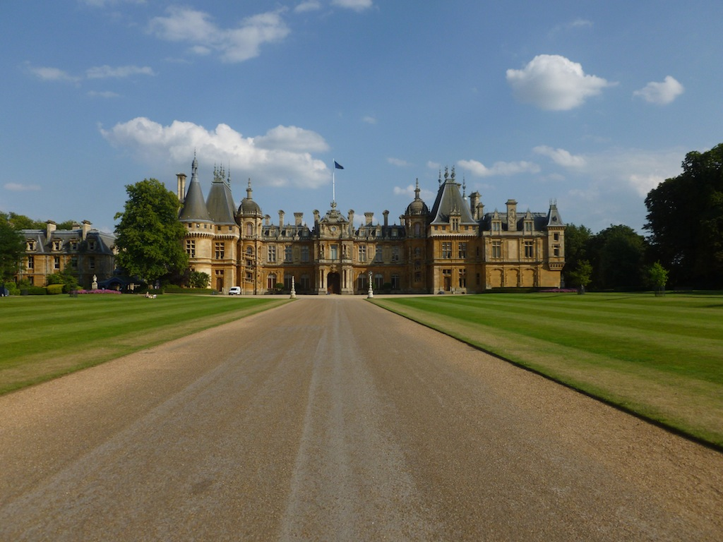 Waddesdon Manor Haddenham to Aylesbury via Waddesdon walk
