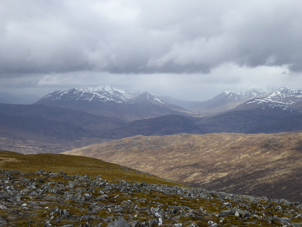 Glen Nevis from Beinn na Lap