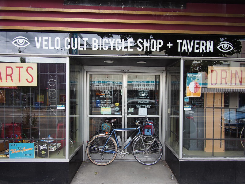 Velo Cult: Closed Sunday and Monday during the Summer.