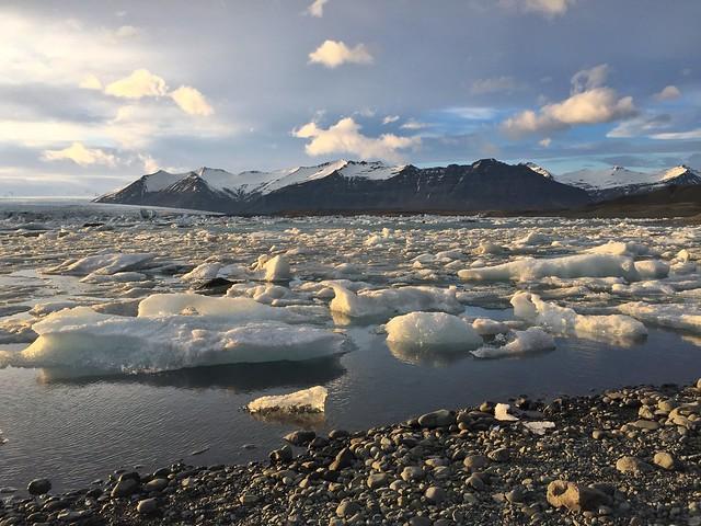 Laguna Jokulsárlón (Islandia)