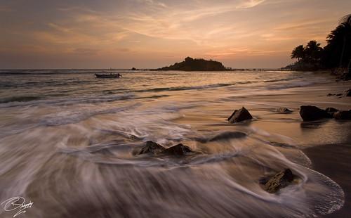 trip travel sunset holiday beach canon golden coast boat fishing sand glow afternoon magic srilanka mirissa 50d