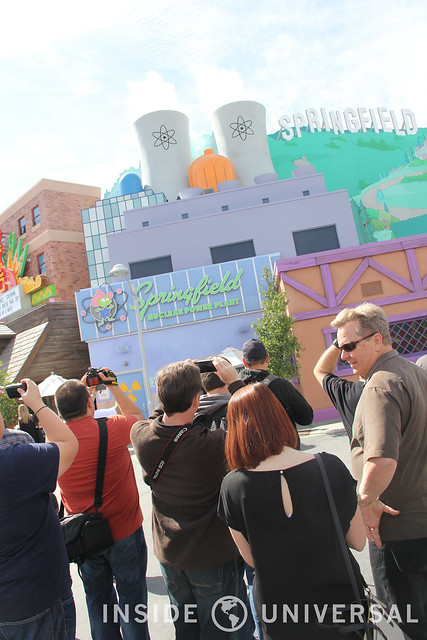 Behind the Scenes of Springfield at Universal Studios Hollywood
