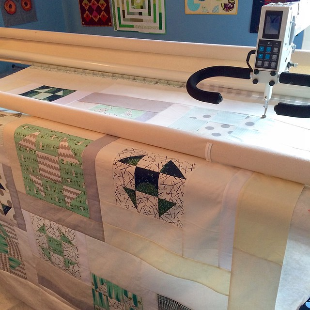 Dance - quilting begins