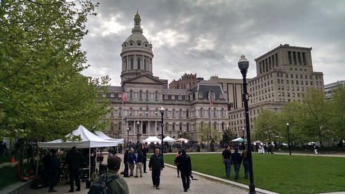 May Day Protest in Baltimore