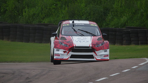 WRX Lydden Hill 2015 - #7 Manfred Stohl - Team Austria Ford Fiesta VII Supercar
