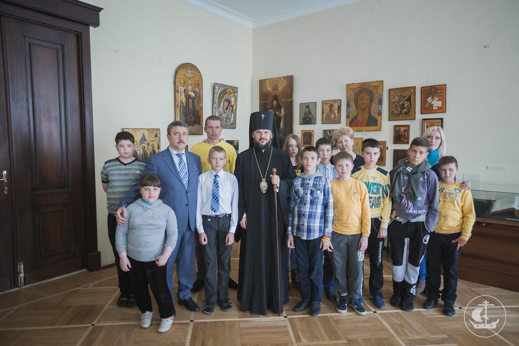 2 июня 2015, Встреча с детьми из Донбасса / 2 June 2015, Meeting with the children from the Donbass