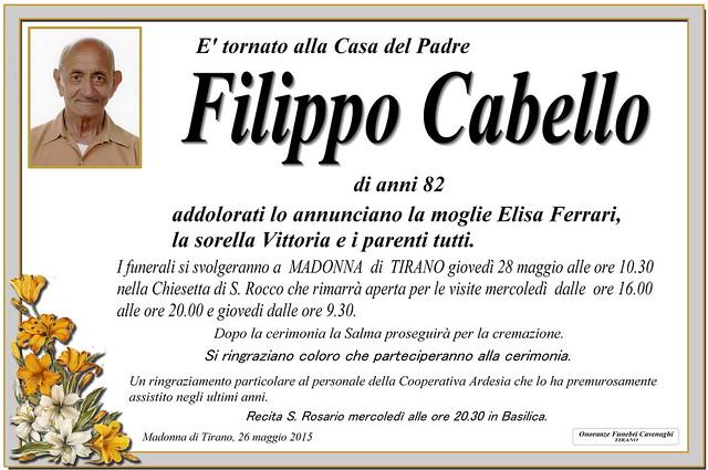 Cabello Filippo