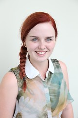 Caitlin Salter representing the Invercargill Irish Society.