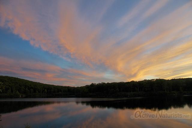 sunset view 0001 Harriman State Park, New York, USA