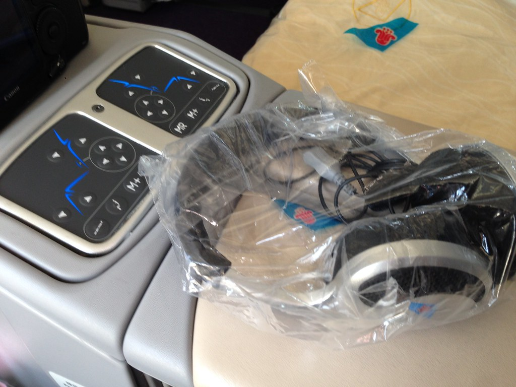 Headphones and Seat Controls