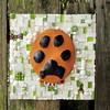 Memory Paw Print Mosaic