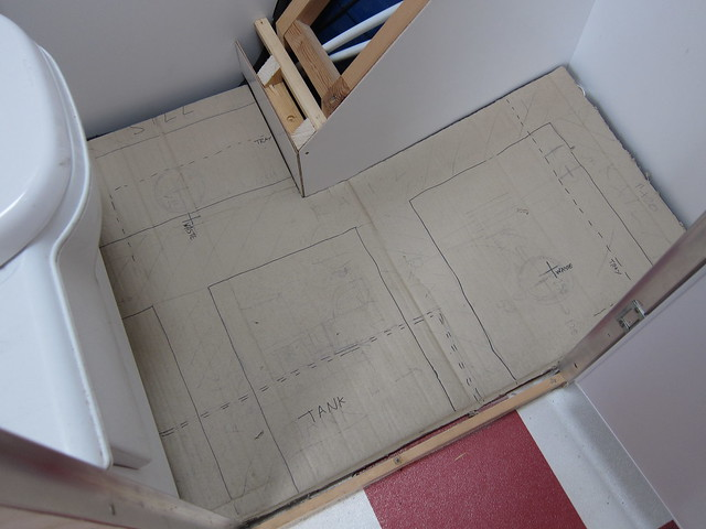 hereu0027s the shower tray as supplied itu0027s plastic and weighs not much but is quite flimsy of which more later
