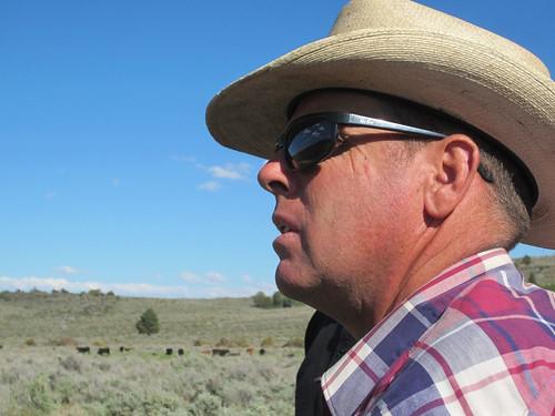 John O'Keefe, a cattle rancher in Oregon
