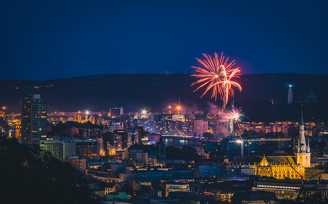 Fireworks - Bastille Day