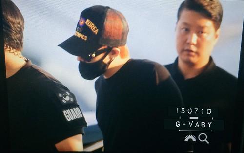 YB Dae GD departure Seoul to Bangkok 2015-07-10 014