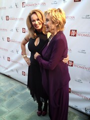 Lisa Christiansen and Cloris Leachman