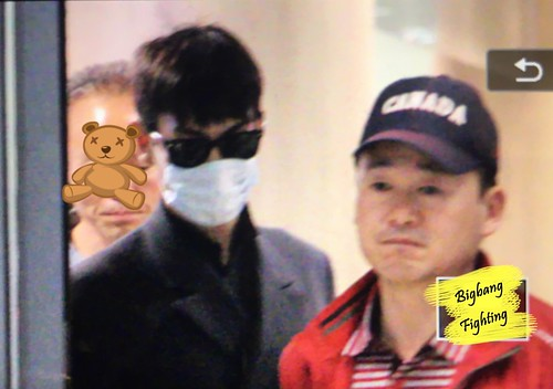 Big Bang - Incheon Airport - 27mar2016 - BigbangFighting - 07