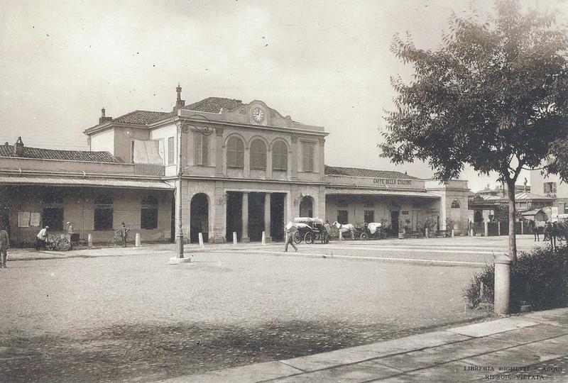 Stazione della Ferrovia, Acqui Terme, Italy