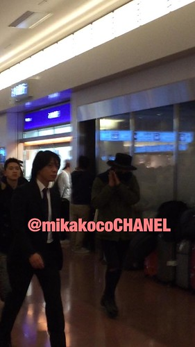Big Bang - Haneda Airport - 27feb2015 - G-Dragon - mikakocoCHANEL - 03