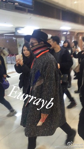 Big Bang - Gimpo Airport - 15jan2015 - G-Dragon - Eurrayb - 01