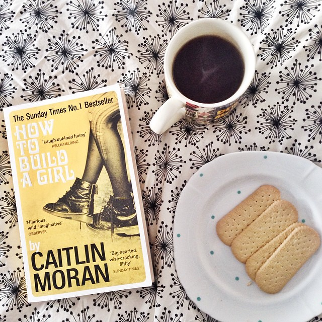 Happy bank holiday mon-yay! #coffee #biscuits #book #bankholidaymonday