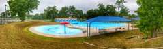 Panorama view of The Wave pool