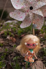 flower, leaf, flora, spring, pink, doll, eye, toy,