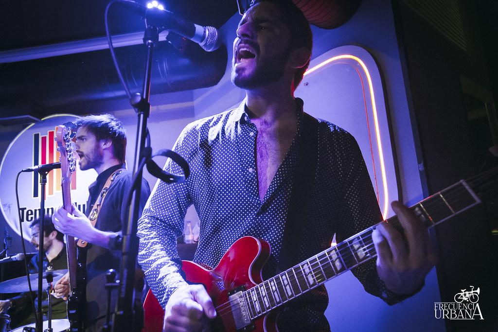 Imágenes del concierto de The Kaith Keepers en la sala Tempo. Madrid 21/5/2015)