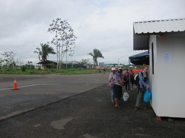 Final Border Crossing into Nicaragua