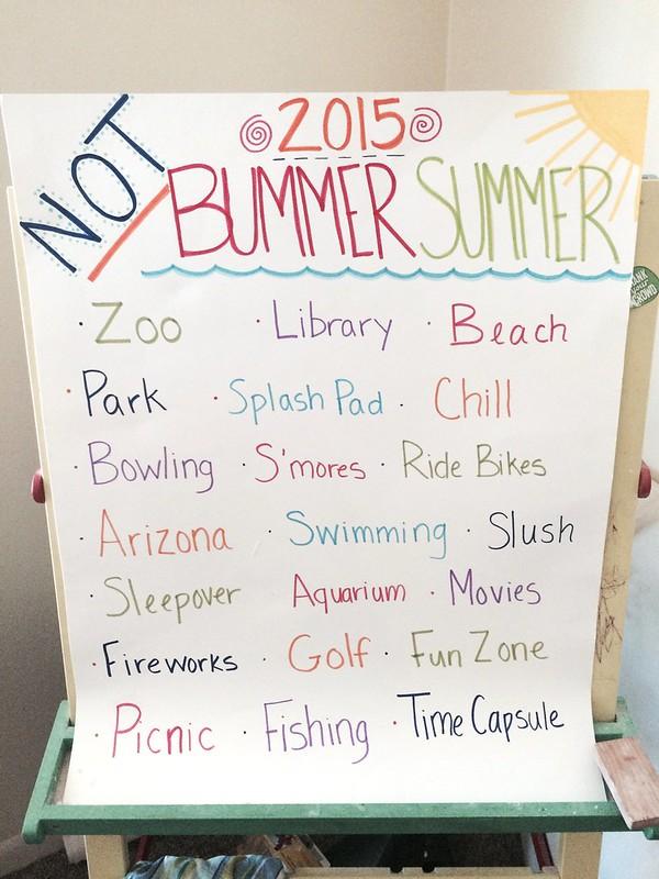 Not Bummer Summer 2015
