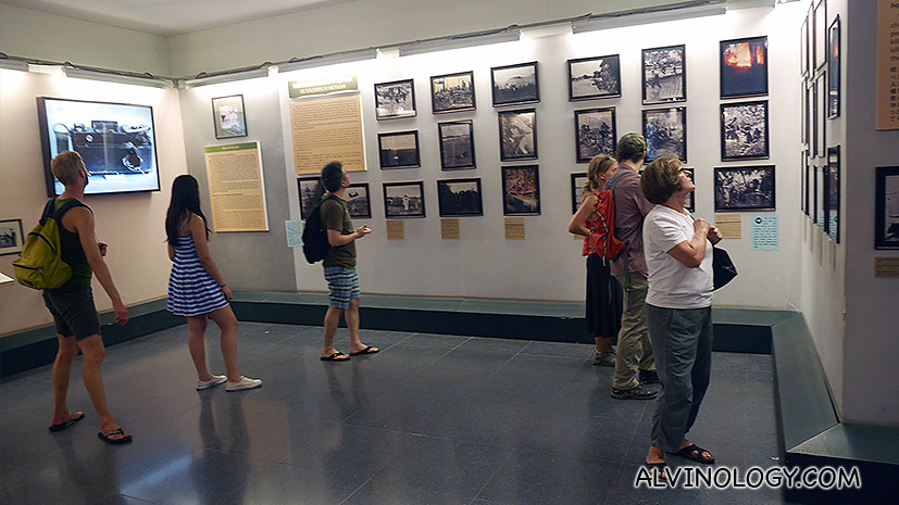 Lots of war images on display