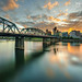 portland at sunset by Eric 5D Mark III