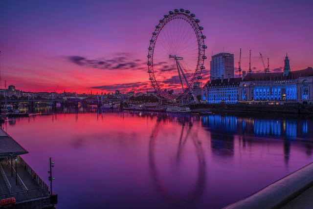 LondonEye Sunrise-3