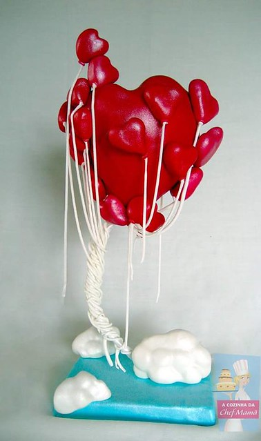Sweethearts Cake by Teresa Bacelar of da Chef Mamã