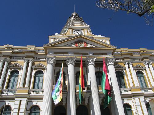 La Paz: el Palacio del Gobierno (le palais présidentiel)