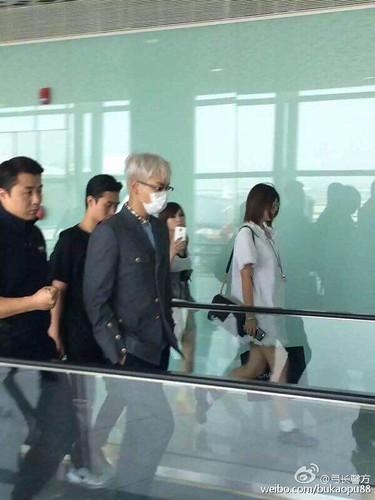 BIGBANG lArrival Shenzhen from Seoul 2015-08-07 034