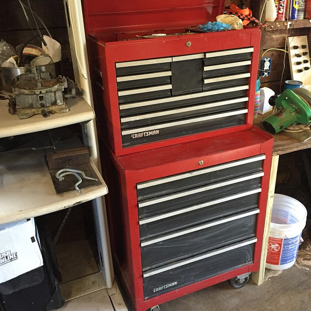 Happiness is an organized toolbox