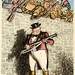 Back to the wall - Churchill John Bull figure, Commonwealth troops clambering over wall Artist Leslie Illingworth by The National Archives UK