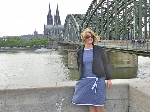 Day 29. Cologne Cathedrale and bridge, 20ths dress and Morris Blazer