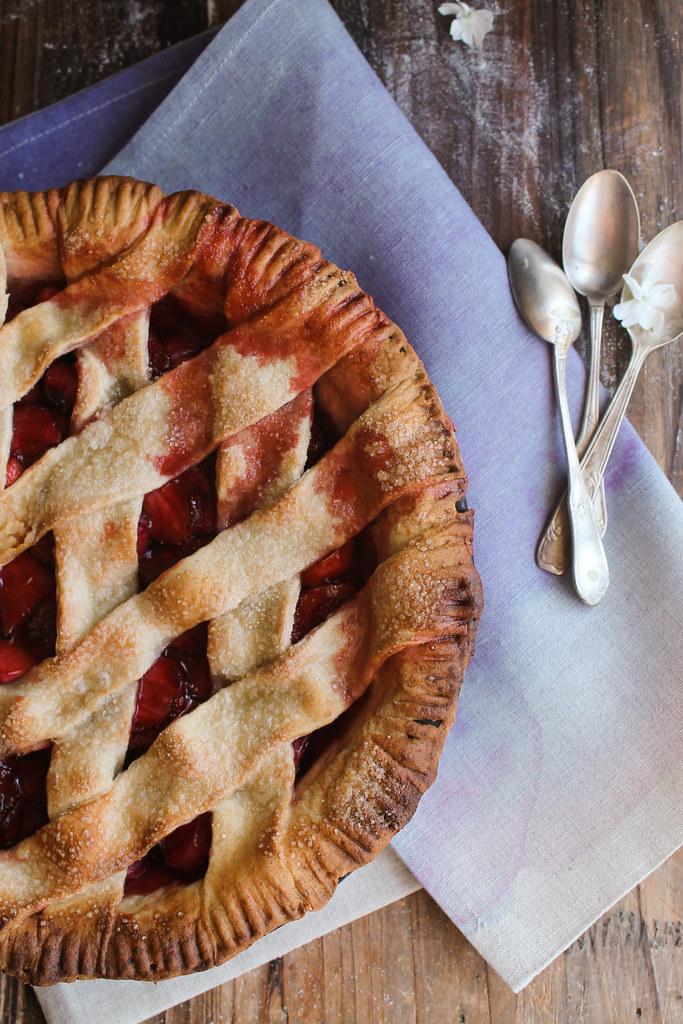 Pie aux fraises recette