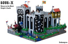 6086-X Return to the Black Knights Castle