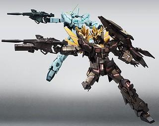 《Robot魂》SIDE MS 機動戰士鋼彈UC 獨角獸鋼彈 & 報喪女妖 最終射擊Ver.